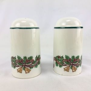 Two Johnson Brothers Victorian Christmas S & P